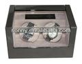 Los hombres deben tener alta- tecnología de pantalla táctil de control de doble motor de luz led enrollador automático de reloj