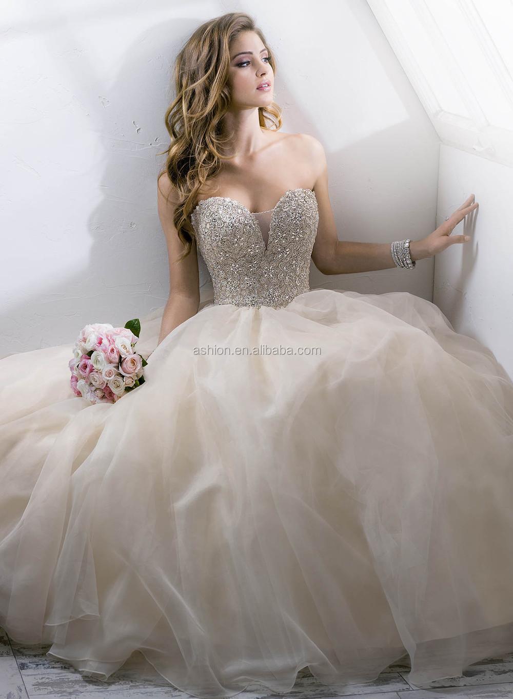 Puffy Principessa Abiti da sposa