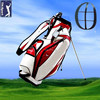Ladies Discount PU Leather Golf Stand Bags