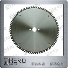 Circular TCT saw blade for cross cutting MDF and laminated panels