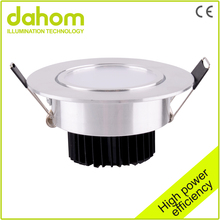 Good Quality SMD Dimmable 2.5inch Led Down Light Panel 2year Warranty Round 3w Led Downlight