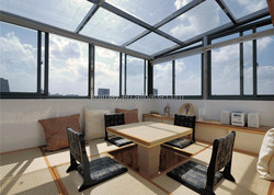 high quality outdoor glass room, sunroom panels for sale