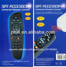 universal sky digibox mando a distancia con diseño de moda