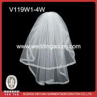 V119W1-4 Eleagnt Wedding Accessories Wholesale Bridal Veil