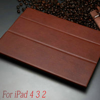 New products best seller alibaba china tablet equipment for Ipad smart cover leather case for Ipad 2 3 4