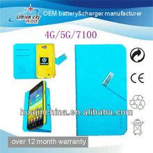 For ipad mini case with pen slot,for ipad mini leather case
