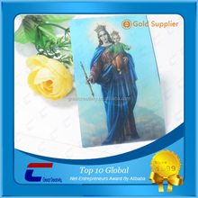 wholesale sweet mother mary 3d picture jesus god lenticular