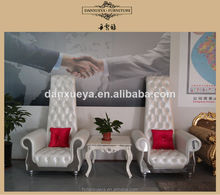 Wedding hall chairs,wedding chairs for bride and groom,king and queen chairs