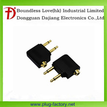 Airplane Airline Headphone Adapter Headset Adapters