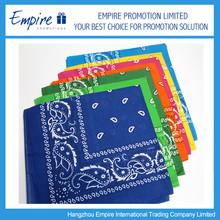 Fashionable New Design Custom Wholesale Solid Bandanas