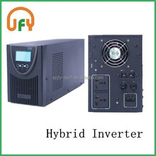 Hybrid charger and inverter,hybrid UPS,solar system 5000w, PV and AC input supporting