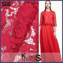 bridal cotton crochet lace fabric