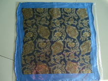 Manufacturer Handmade 100% Silk Handkerchief For Men