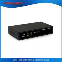 FR-S1008PED-G _ 802.3af(15.4W) 8-Port 100Mbps POE Ethernet Switch for APs, IP Cameras or VOIP 48V 1.5A (4 port PSE)