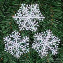 New Snowflake christmas ornament 9-30 PCS/Set snowflake christmas decorations for home christmas plastic snowflakes