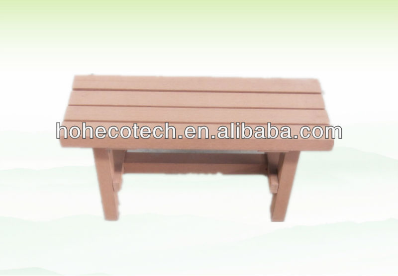 Waterproof outdoor furniture wood composite bench buy Synthetic wood patio furniture
