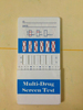 Drugs Multi-6 combo Rapid Test / Drugs for exterior use function / Urine test drugs