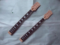 one piece wood ebony fretboard electric guitar neck