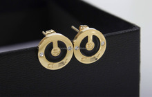 Hot sale new design fashion earring cheap wholesale designer fashion jewelry