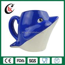 Wholesale customised 3d animal ceramic coffee mug