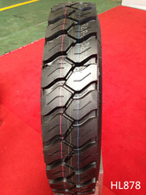 Made in China All steel radial truck and bus tyre Double Coin quality 11.00R20 HL878