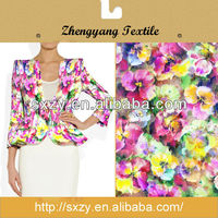 Hot selling cheap price spandex useful floral print fabric