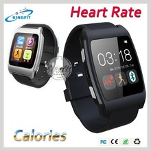 2015 Latest heart-rate calories sleep monitor healthy product smart watch for Samsung galaxy S6