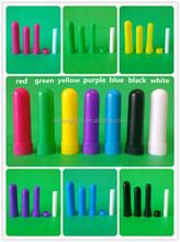 200 pçs/lote grátis frete de alta qualidade vazio aromaterapia cristal branco inalador disponível em uma variedade de cores