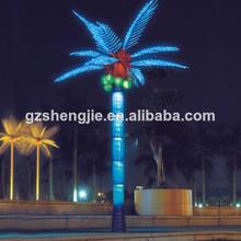 artificial de coco luz da árvore