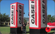 Custom giant Inflatable Advertising Logo tube towers for sale