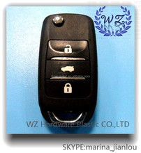 2015 hot sales product car remote key shell, universal car key