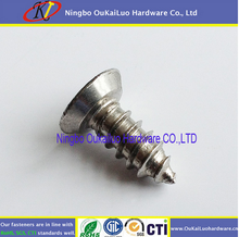 Customizing design Round Head Washer Philip /heet Metal self tapping screws for free sample