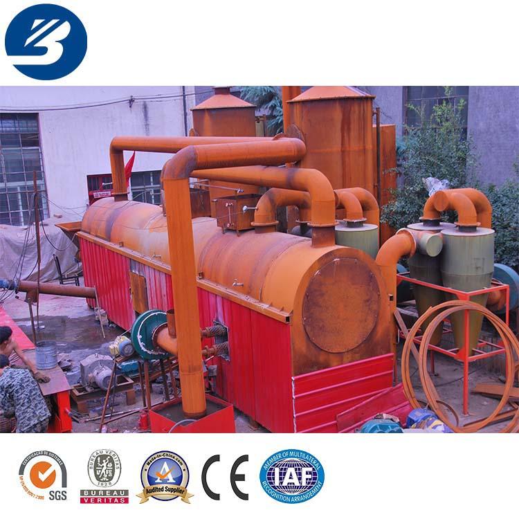 Neumáticos incinerador máquina/jardín sin humo incinerador/industrial incinerador proveedores