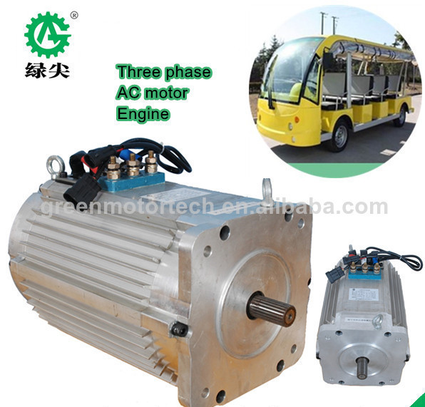 reliable 2 seats electric golf car motors 3kw 48v AC DC