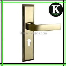 new design Zinc alloy mortise lock door handle N03