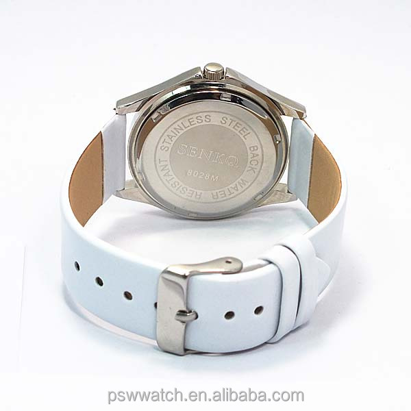 wholesale watch, alloy case pu leather watch, fashion wrist watches for women