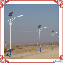 Hot sale 3m solar led road light outdoor for road way with factory direct supply