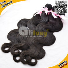 China Alibaba Aliluxy Company natural raw remy wet and wavy indian remy hair weave