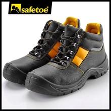 สีดำรองเท้าความปลอดภัยรองเท้าทหารกองทัพตำรวจm-8027