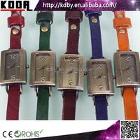New Vintage Bronze Copper Quartz Analog Ladies Watch Gift Set Small