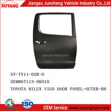 Pickup Toyota Hilux Vigo Auto Body Parts Steel Aftermarket Back Door