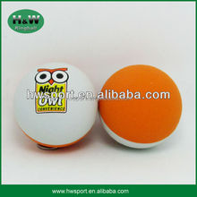 custom promotional hollow rubber ball