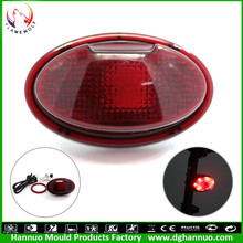 New Design with high quality led bike light mode flash constant light bike tail laser light