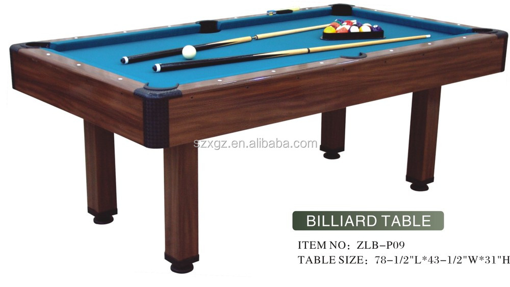 what is a good size pool table 2