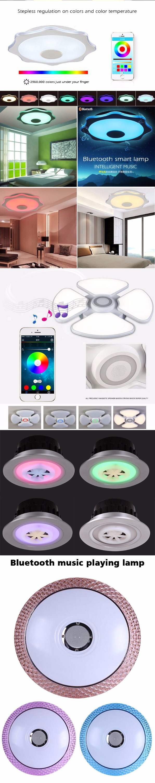 RGB led light brightness adjustable Bluetooth music player  living room music box ceiling light with speaker (3).jpg