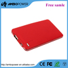 rechargeable mobile power bank 5000mah for outdoor travel