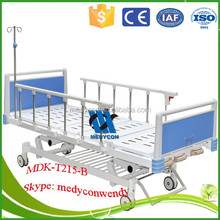cheap hospital bed 3 crank medical beds