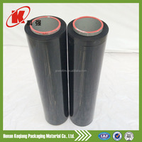 High tensile strength sun protective silage film