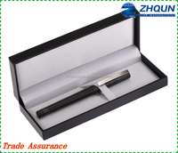 High grad black plastic kraft paper pen packaging gift box with good quality