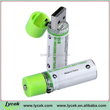 Aa 1.2v Continuance Usb Rechargeable Battery